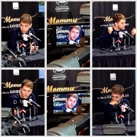 Xavier Dolan_conférence de presse pour  Mommy (photo: Richard JIMMINY Des Lys)