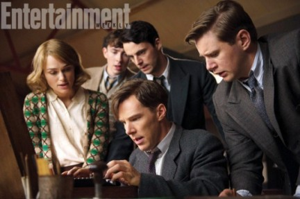 Benedict Cumberbatch et Keira Knightley dans The Imitation Game_photo DR pour EW