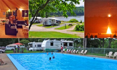 Camping Union du Lac Saint Michel