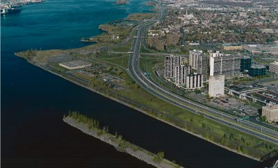 Pointe de Longueuil with property outline