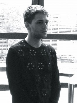 Xavier Dolan à la conférence de presse pour  Mommy (photo: Richard JIMMINY Des Lys)