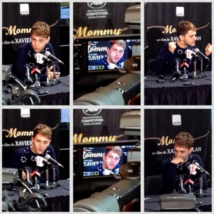 Xavier Dolan_conférence de presse pour  Mommy (photo: Richard JIMMINY Des Lys)