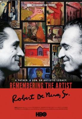 poster Remembering The Artist Robert De Niro Sr