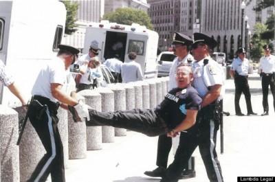 Arrestation de Darby en 1993